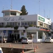 Instalación de cámaras de seguridad en el Club de Mar de Palma de Mallorca.