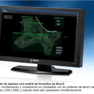 Nuevo sistema de visualización de incendios de Bosch