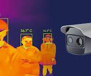 Cámaras para el control de temperatura humana. Control de accesos